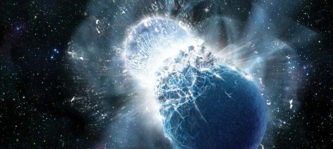 Uma colisão de estrelas gerou um objeto monstruoso