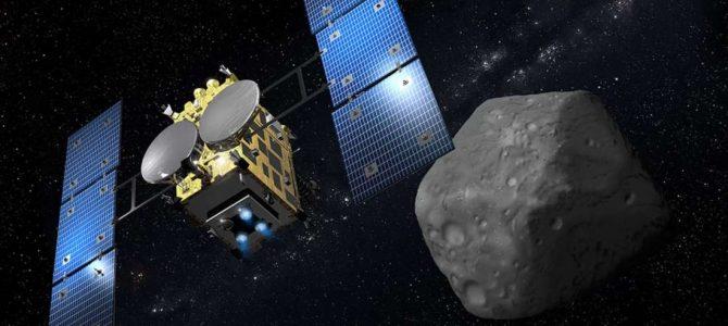 Sonda japonesa registra imagens de asteroide estranho