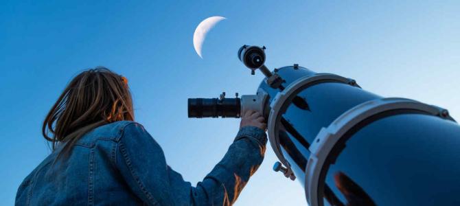 5 telescópios bons e baratos para quem está iniciando
