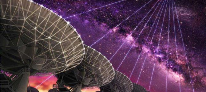 Emissão de rádio misteriosa é detectada vinda do espaço