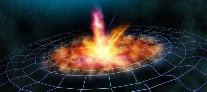 Uma onda gravitacional pode destruir a Terra