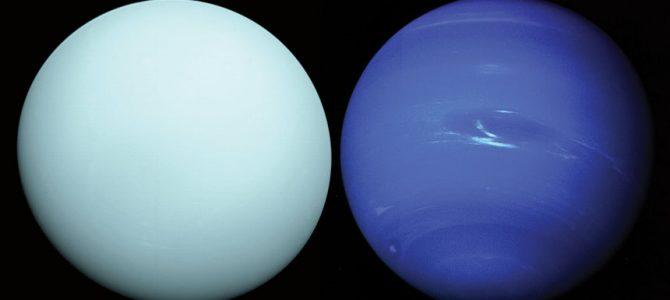 Por que Urano e Netuno são azuis?
