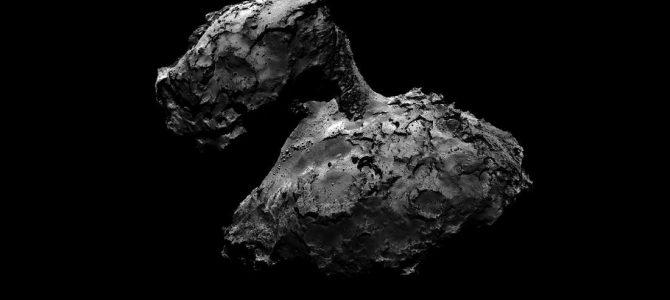 Divulgada imagem inédita da superfície de um cometa