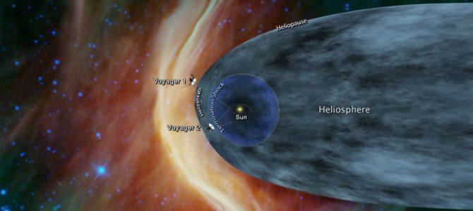 Sonda Voyager 2 está saindo do sistema solar